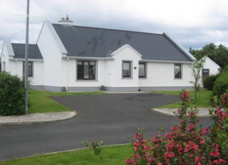 Our cottage - located in the town of Louisburgh