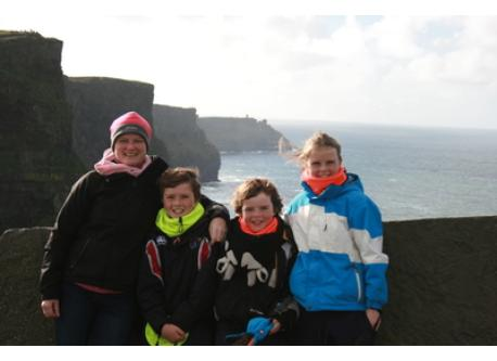 Cliffs of Moher, Co. Clare in West Ireland.