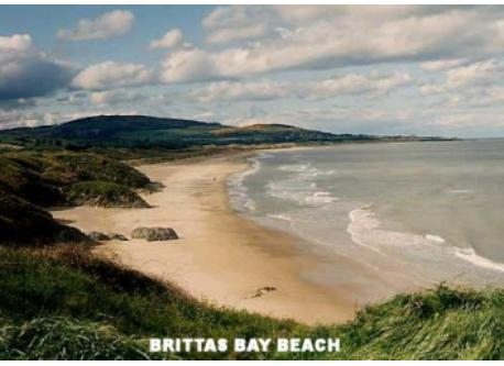 Brittas Bay Beach, 10 minutes from Wicklow Town