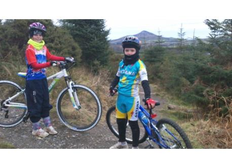 Mountain Biking near Roundwood, Co. Wicklow