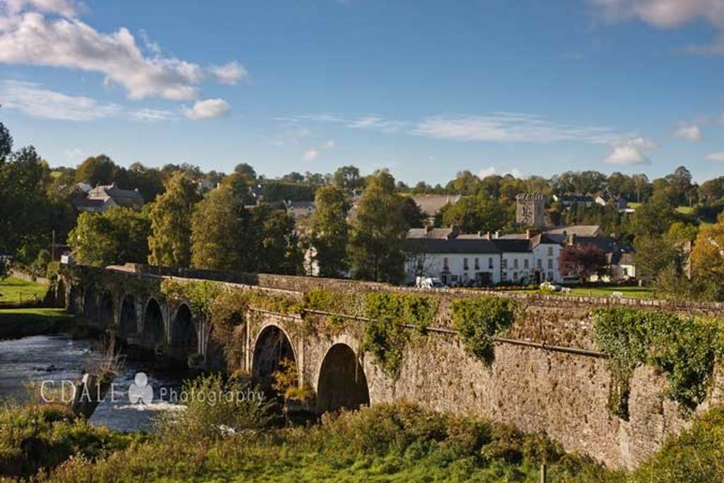 Pretty Inistioge Village, Co.Kilkenny