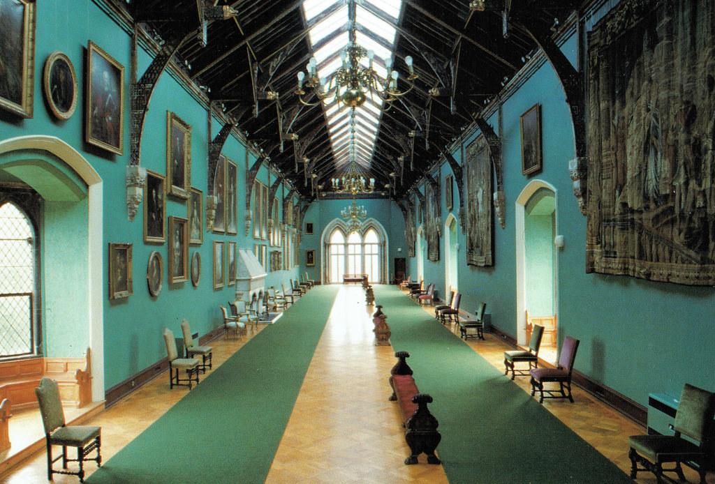 The Long Gallery in Kilkenny Castle.