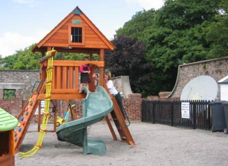 Holiday home play area