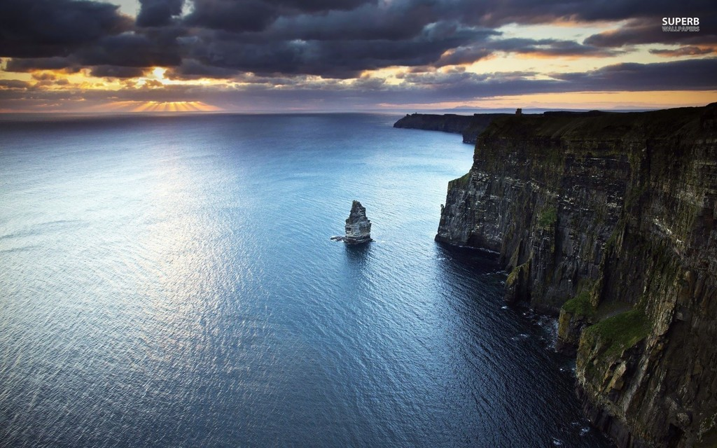 Cliffs of Moher very near our home