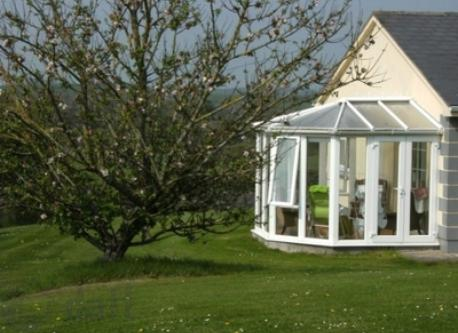 Conservatory and Apple Tree