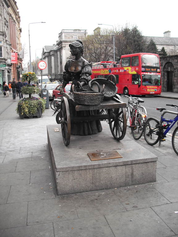 Molly Malone Monument