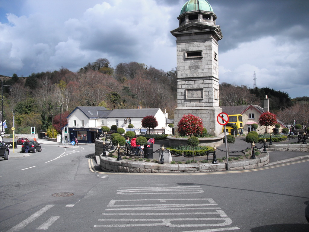 Enniskerry village,Wicklow