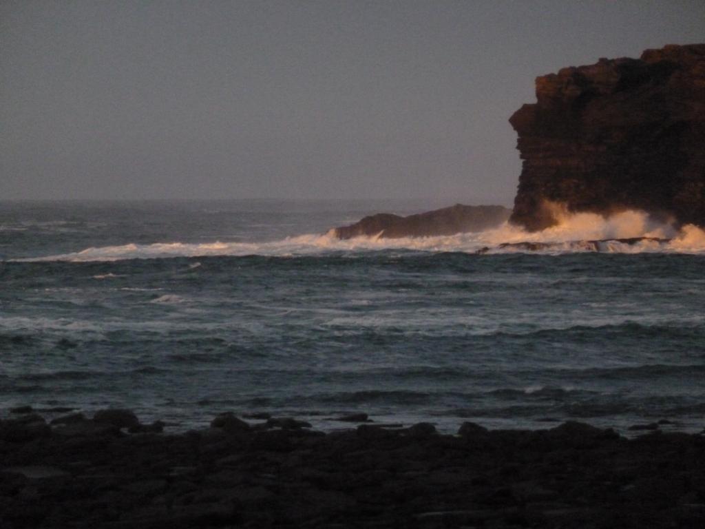 Sea at George's Head (left)