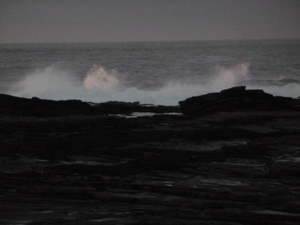 Sea at Pollock Holes