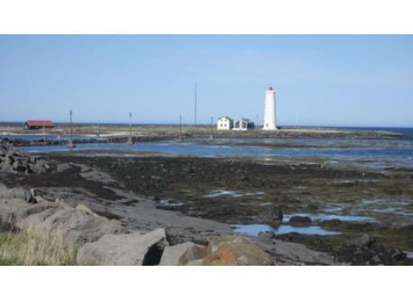 Grotta lighthouse, near our house, 5 min walk