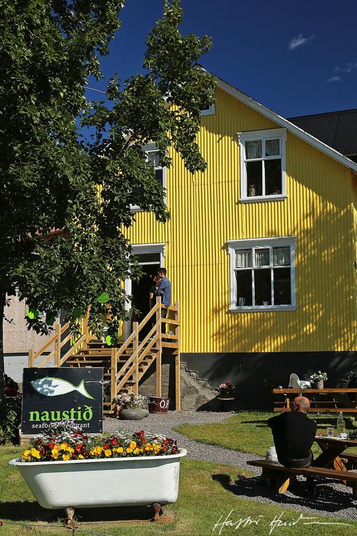Naustið, nice restaurant in Húsavík.