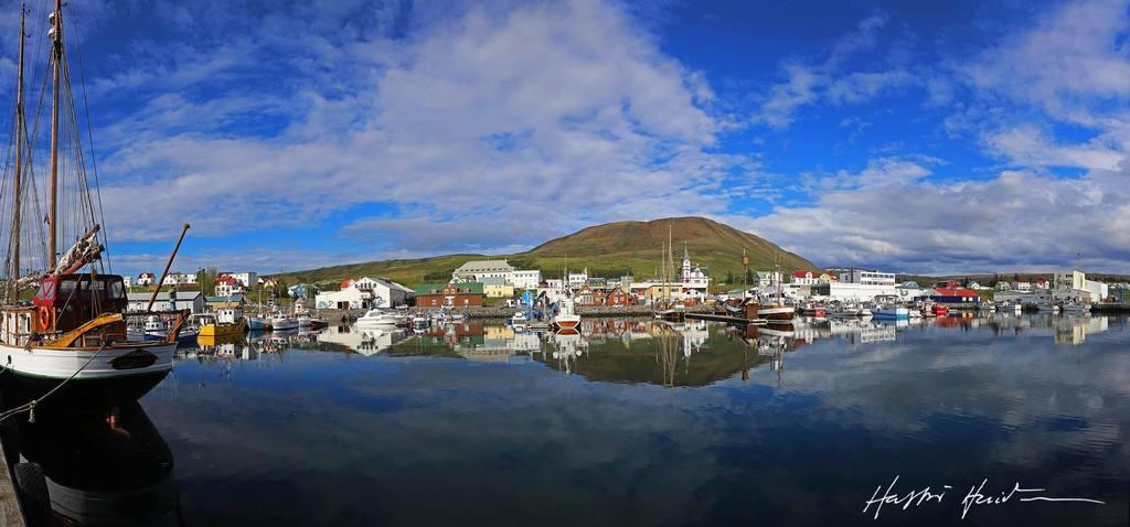 Húsavík harbour 2017.