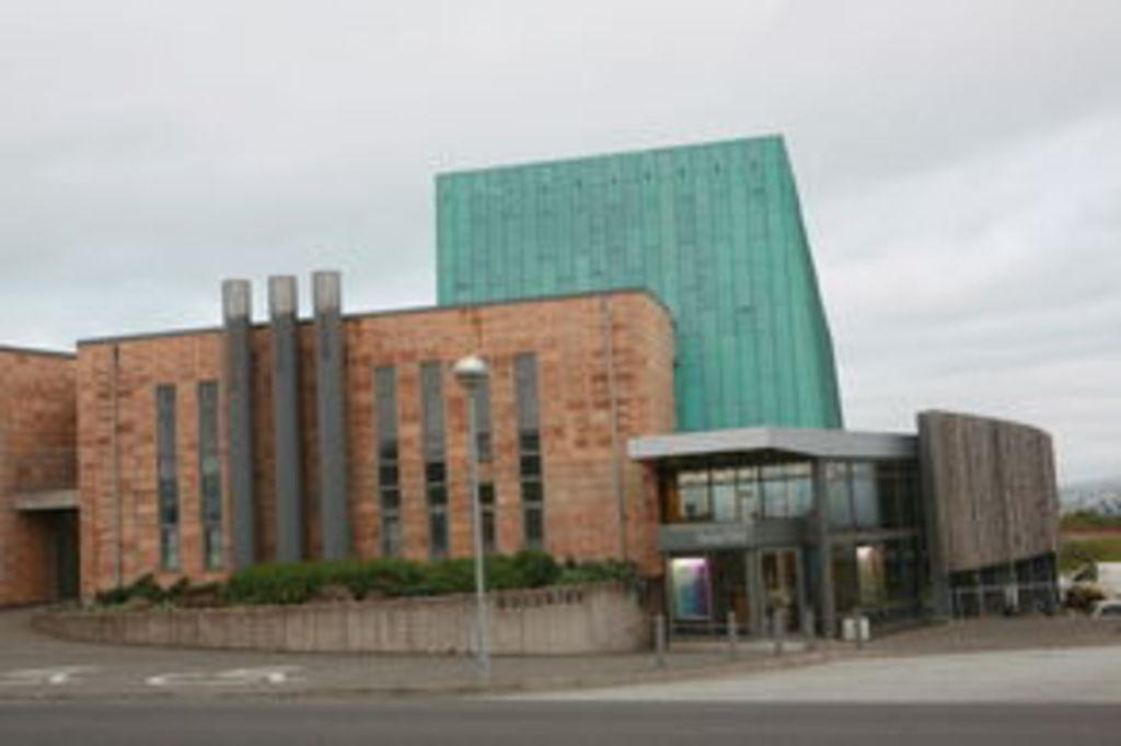 Salurinn concert hall is in the neighborhood.