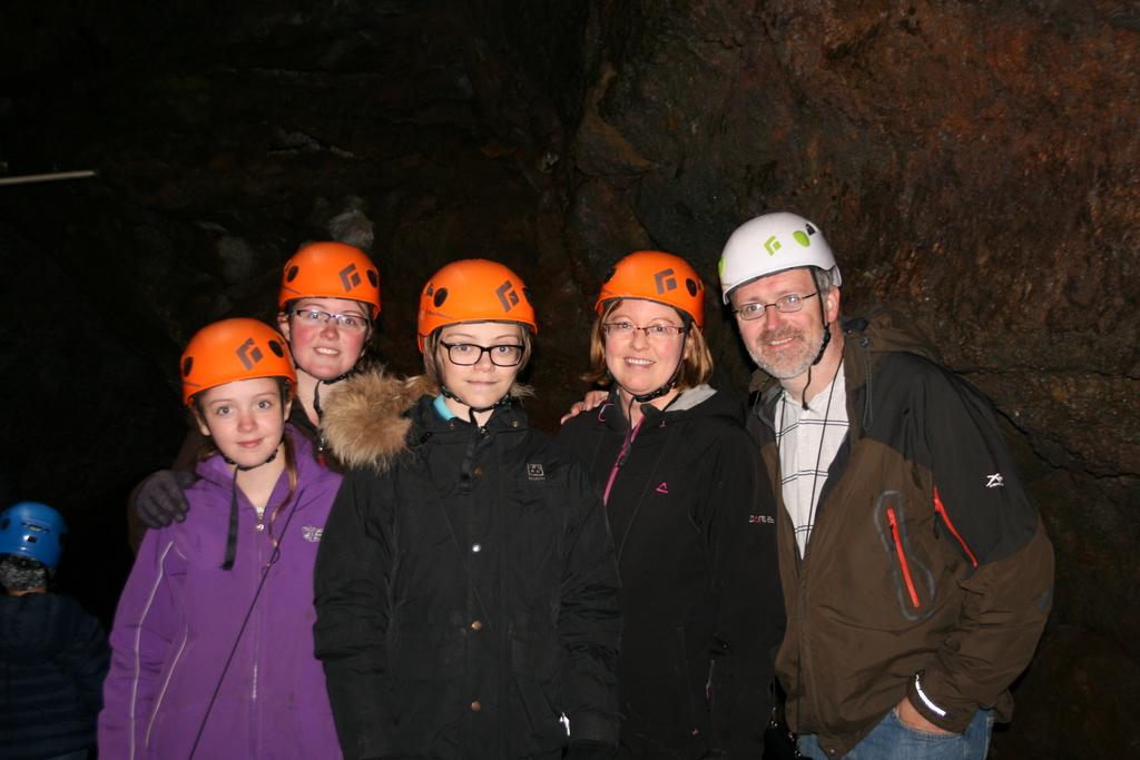Exploring a cave!