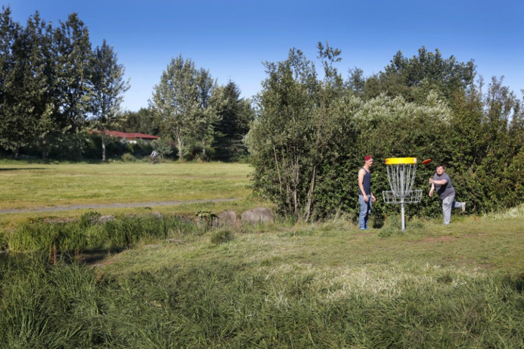 Fossvogsdalur - area for walking, cycling, playing and enjoying