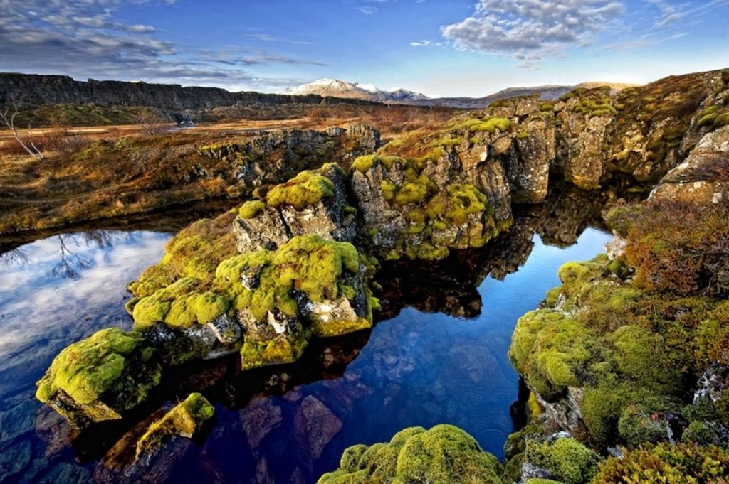 Þingvellir, 40 km.
