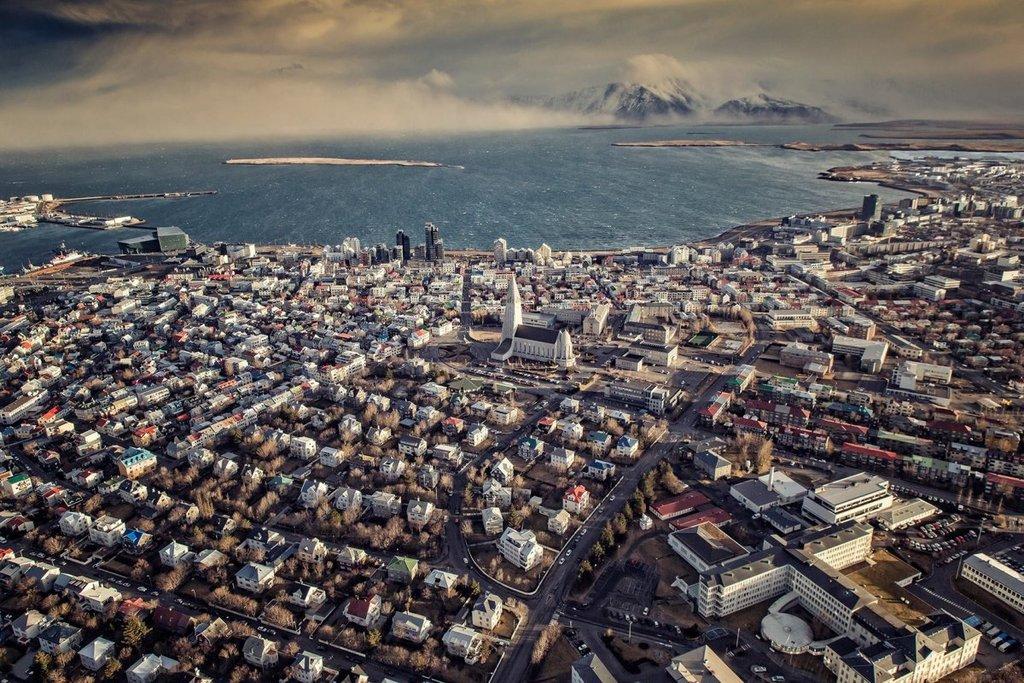 Reykjavík Winter time