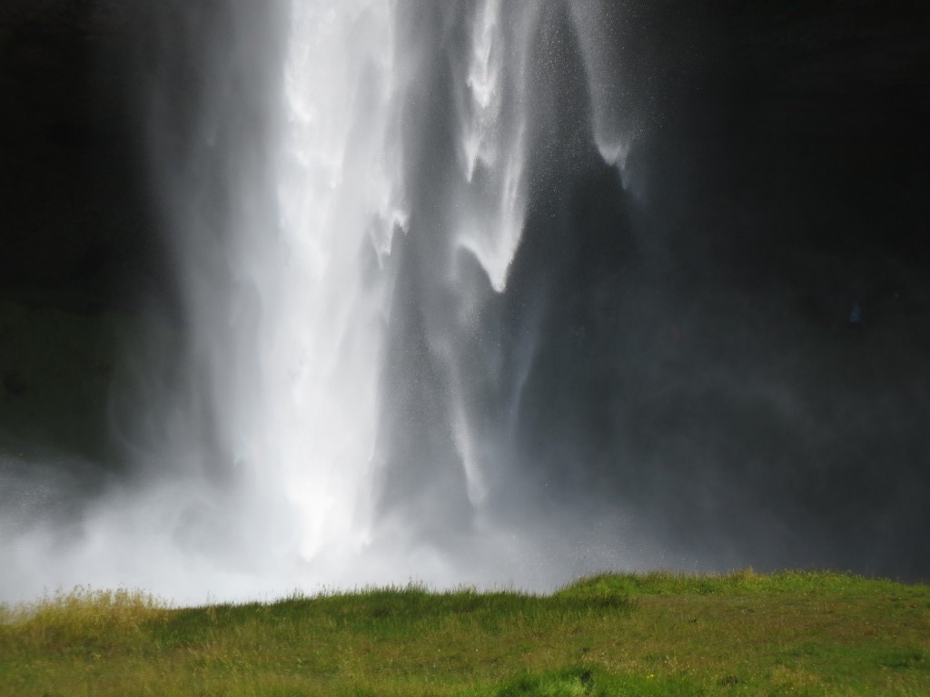 Seljalandsfoss - waterfall in southern Iceland - ca 2 hours away from Reykjavik