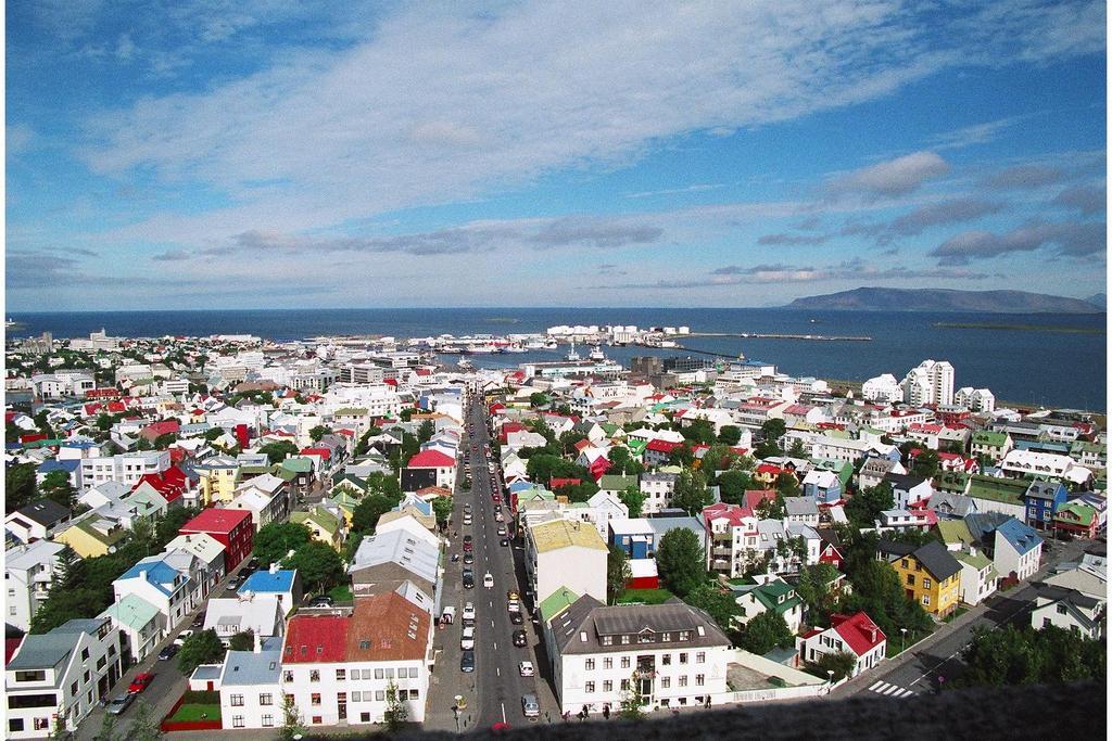 View from Hallgrimskirkja Church