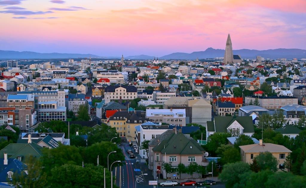 Reykjavik centre