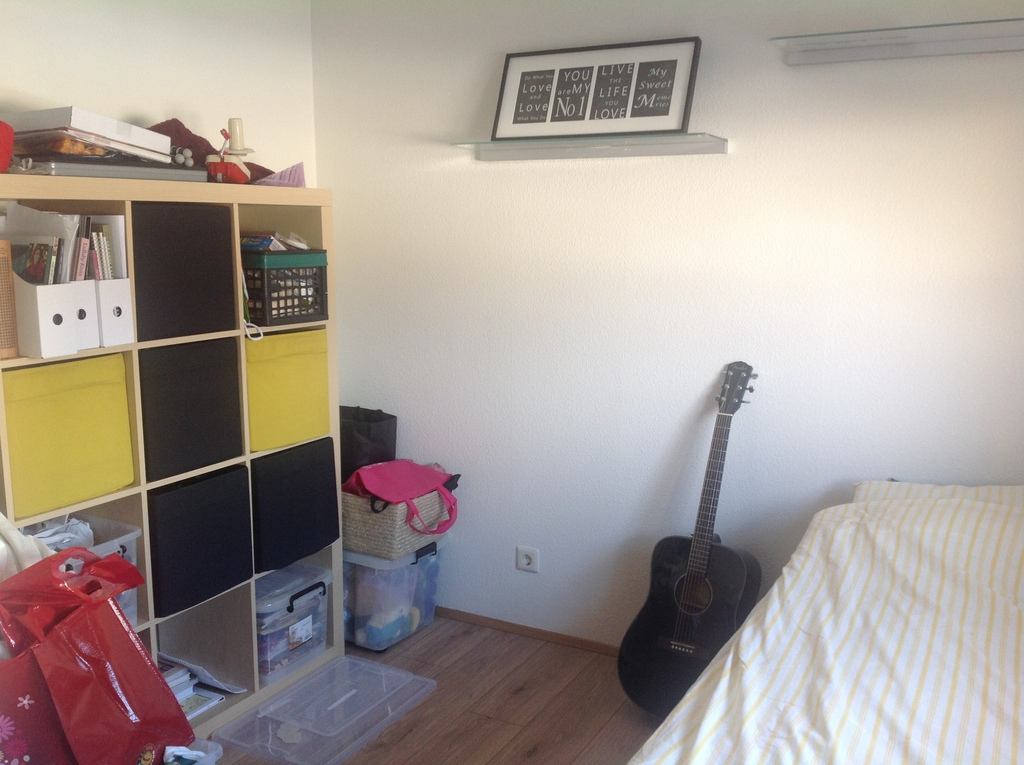 Bedroom nr. 2 is also my hobby room