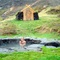 Guðrúnarlaug, a natural pool named after one of our best known viking women.