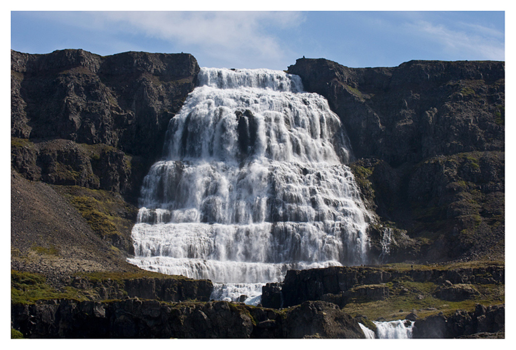 Dynjandi, one of my favorite waterfalls.  It is in the Westfjords about 3 hours from Búðardalur