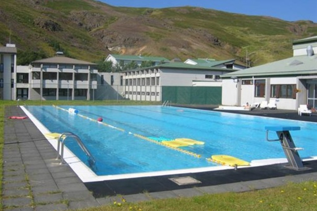 Sælingsdalslaug, the swimming pool 20km from Búðardalur
