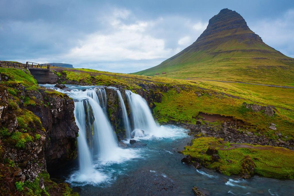 Kirkjufell and Kirkufellsfoss - Snæfellsnes region - about 2 hours away from Búðardalur