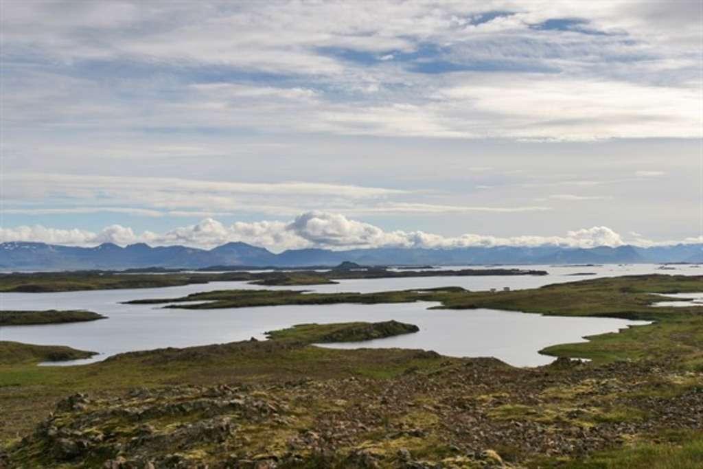 One of the greatest view points we have in Dalir region.  The view over the uncountable islands on Breiðafjörður.