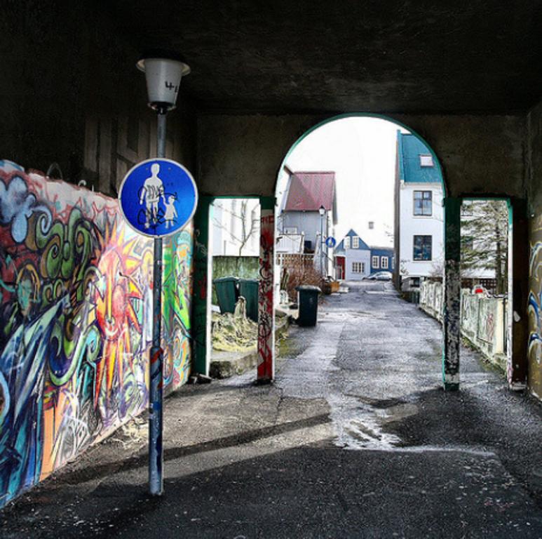 Down town Reykjavik