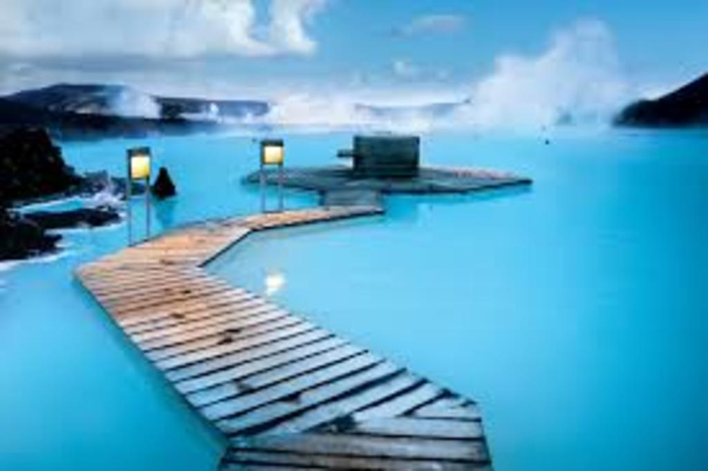 The Blue Lagoon is 35 minutes drive from Reykjavik
