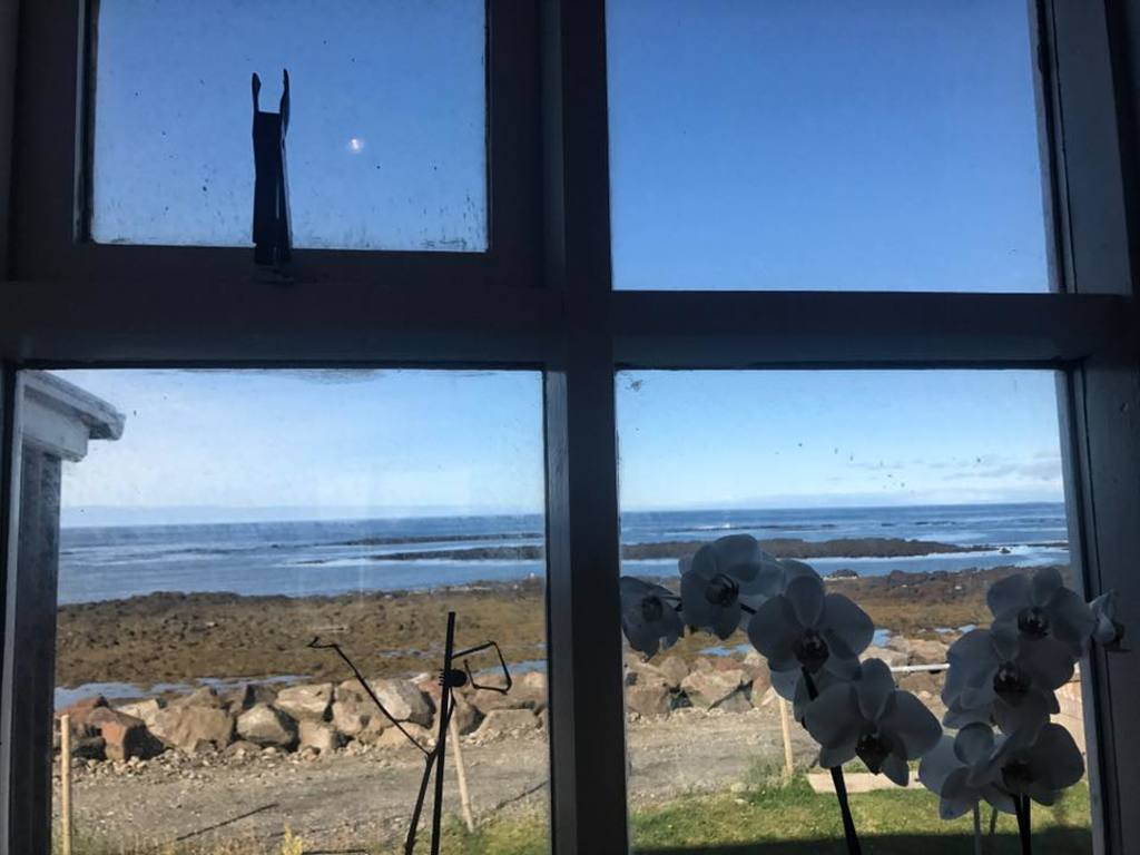 Akranes: The view from the kitchen