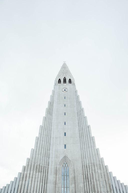 Die Hallgrimskirche in Reykjavík.
