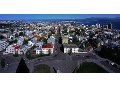 Reykjavík center.