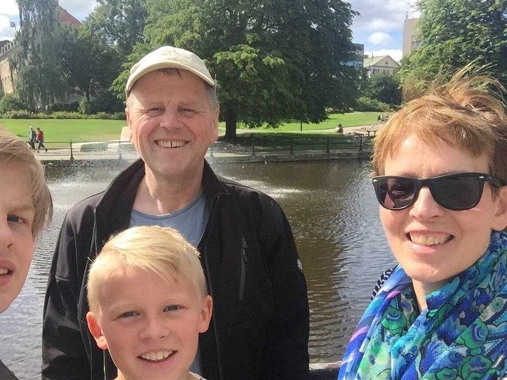 In Västerås August 2017.