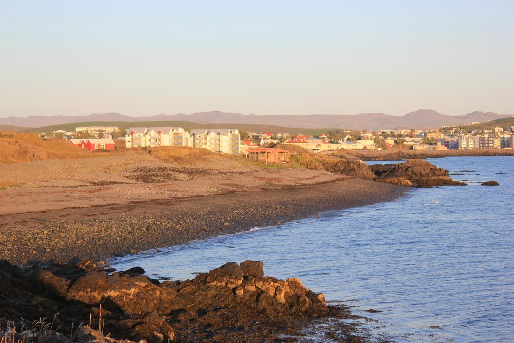 View over Hafnarfjörður, our hometown