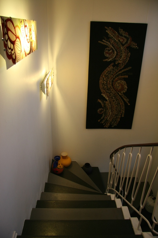 Stairway in the hall