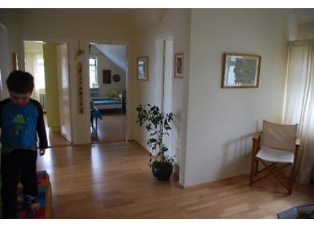 Upstairs hallway, master bedroom, boys room and bathroom, in that order