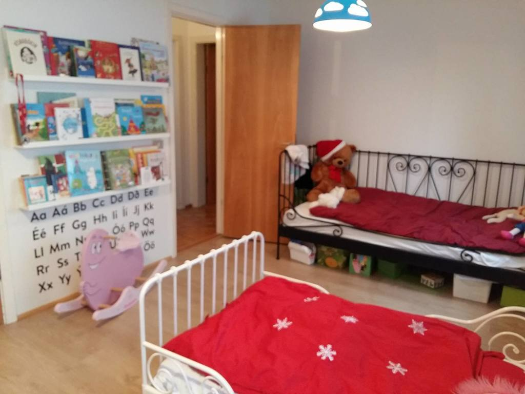 The kids room - the smaller bed can be extended