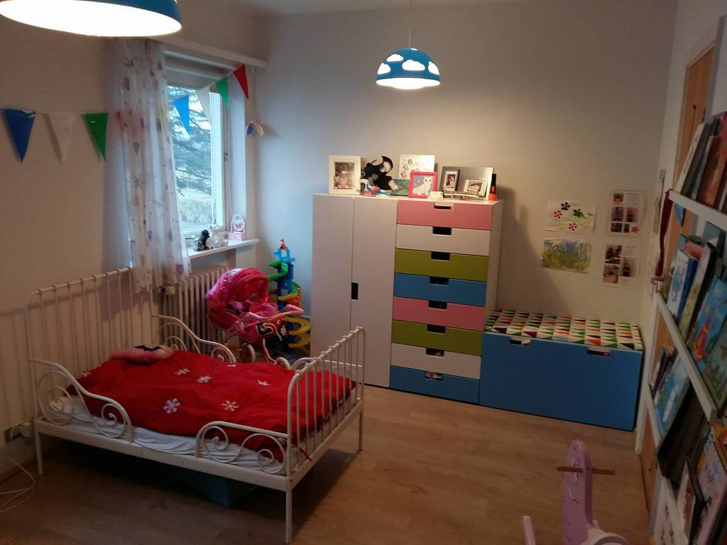 The other end of the kids room
