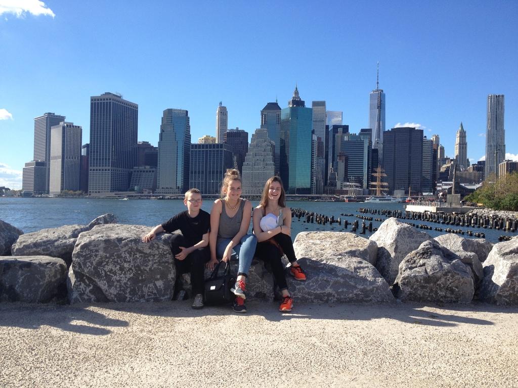 The kids in NY 2013.