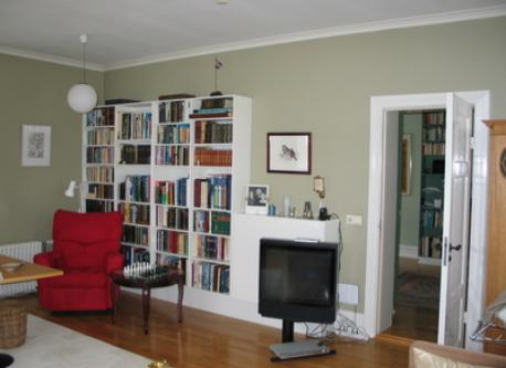 TV and reading room
