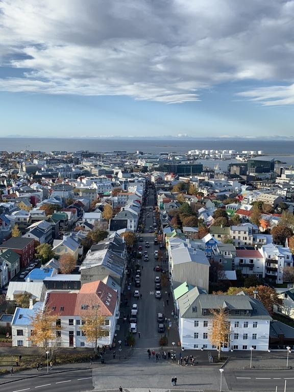 Down town Reykjavík