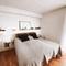 Bedroom 1, master bedroom, bed 180 x 200 cm.