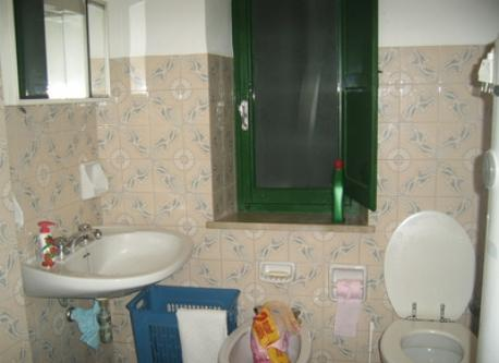 One of the bathroom