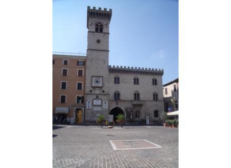 Main square of Arcevia
