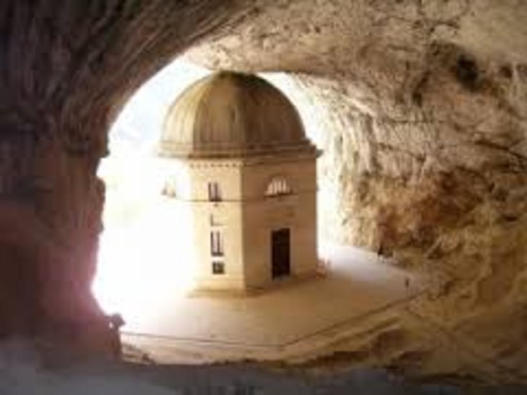 Frasassi Church in the caves