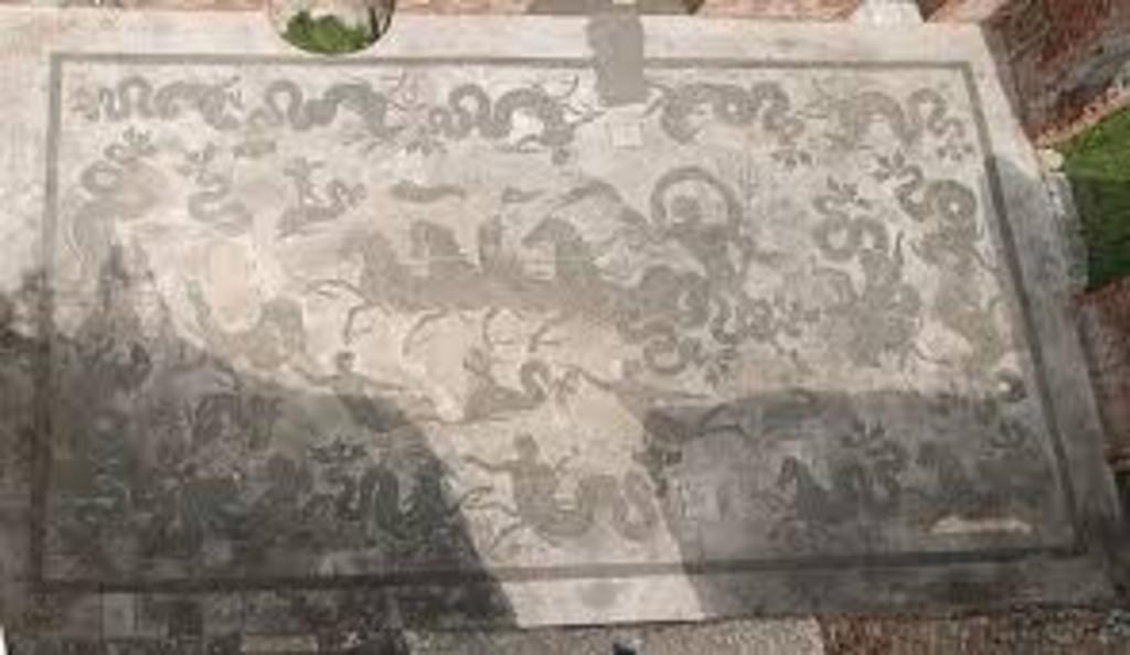 Fabriano old roman masaic