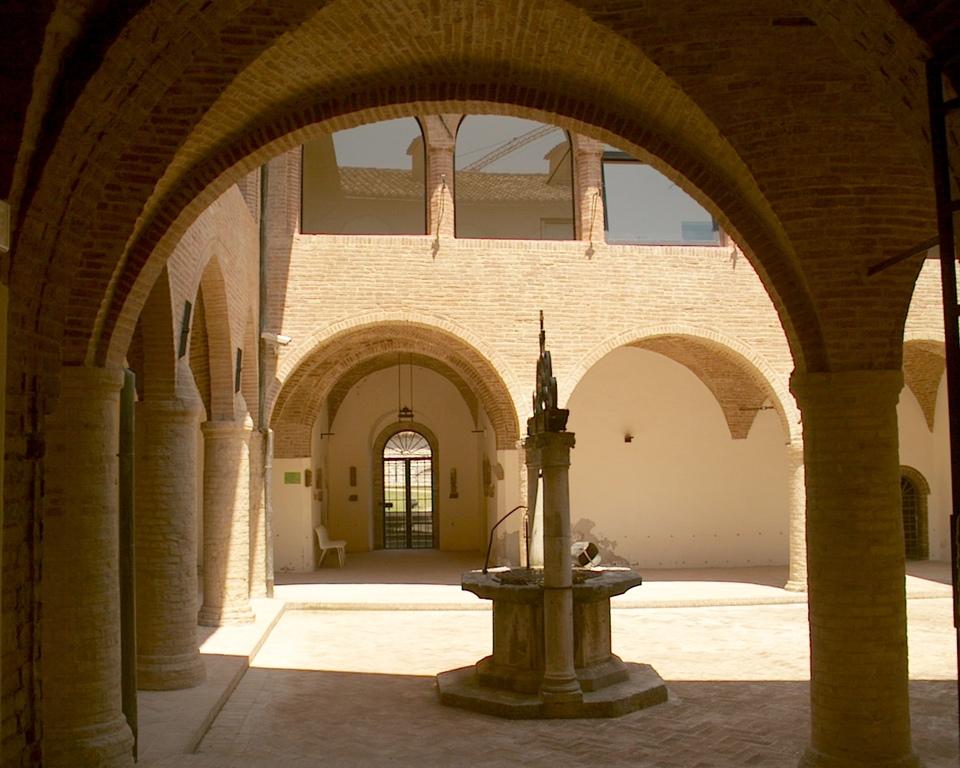 Fabriano cloister